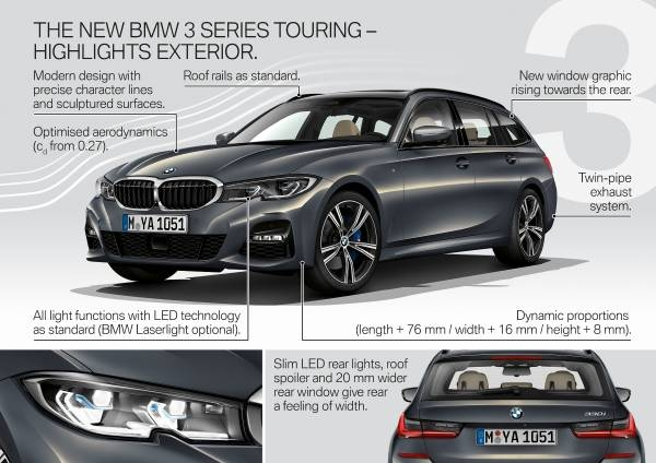 the new bmw 3 series touring New Bmw 3 Series Touring