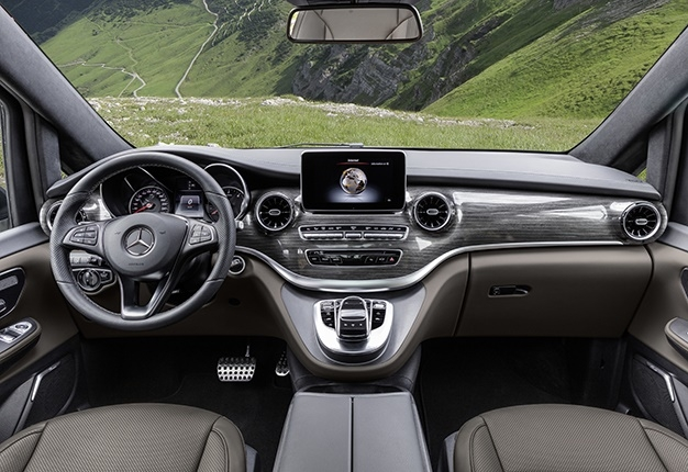 the new mercedes benz v class is so much more attractive Mercedes V Class Interior