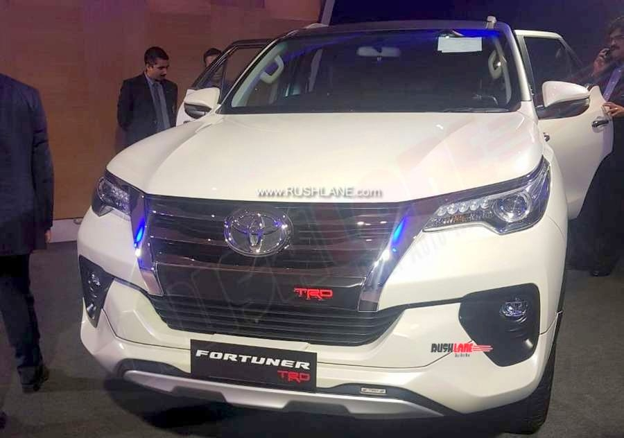 toyota fortuner trd sportivo showcased in india launch Toyota Fortuner Facelift Trd Sportivo