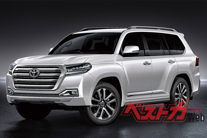 toyota land cruiser going v6 from v8 newsarticles Toyota Land Cruiser Concept