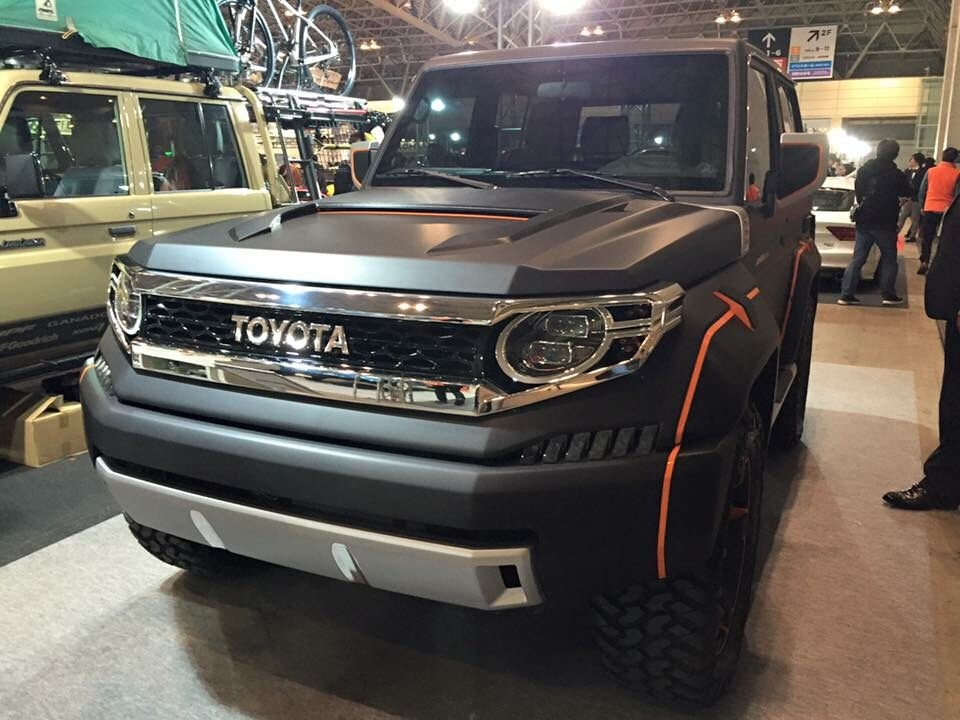toyota land cruiser xj700 concept vehicle for japanese Toyota Land Cruiser Concept