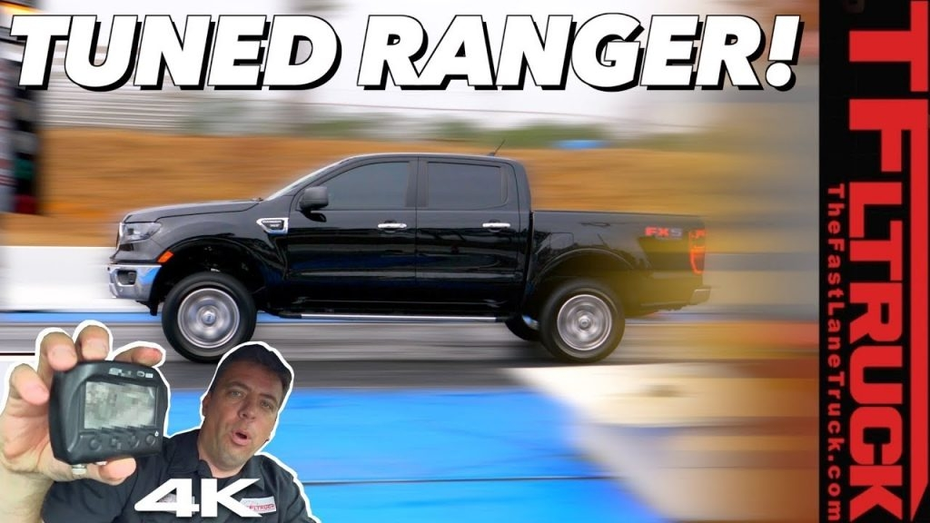 tuned new ford ranger 0 60 mph and drag strip test you Ford Ranger Zero To 60