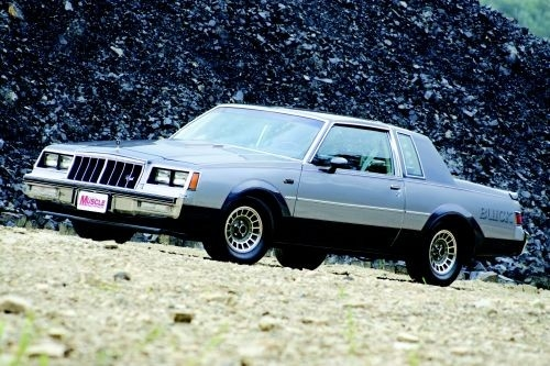 two tone turbo buick grand national hemmings daily Buick Regal Grand National
