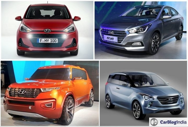 upcoming new hyundai cars in india in 2017 2018 hyundai Hyundai Upcoming Cars In India
