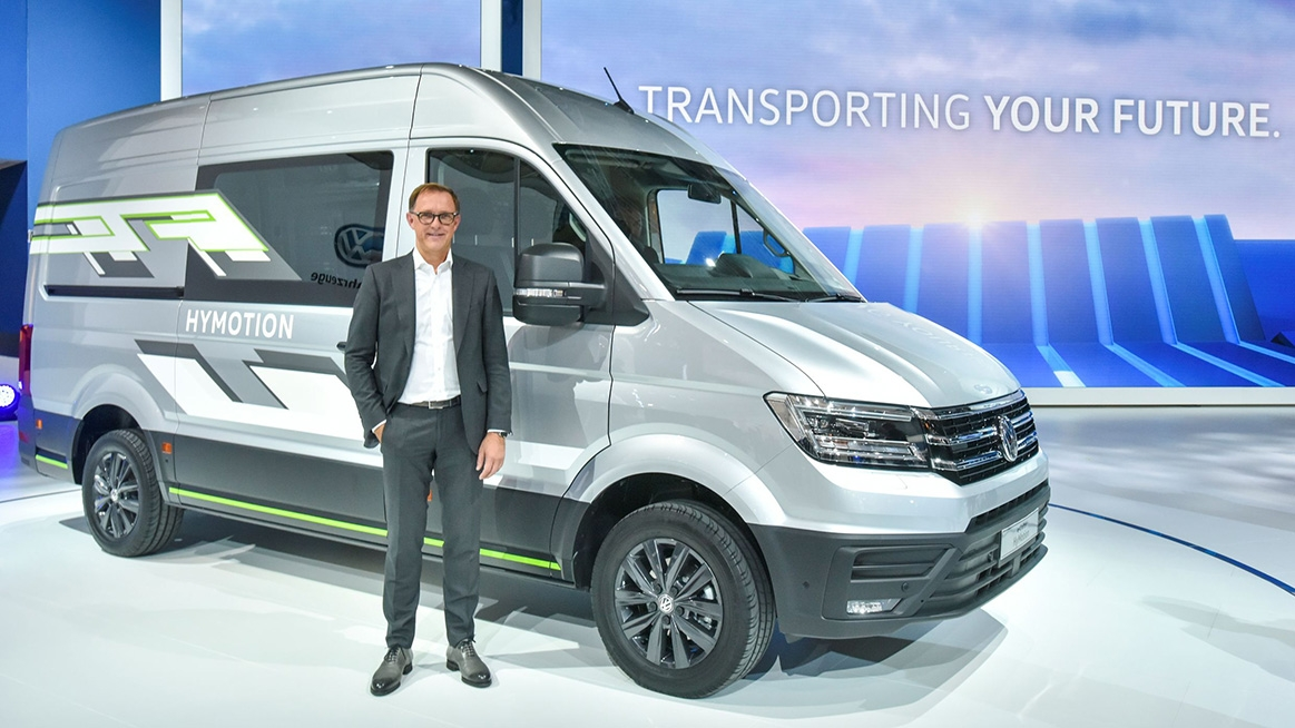 volkswagen commercial vehicles at the iaa 2020 Volkswagen Van Commercial