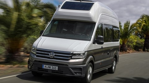 volkswagen grand california 2019 review happy camper Volkswagen Grand California