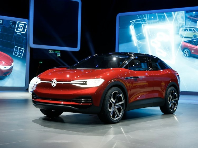 volkswagen unveiled a gorgeous electric concept car that Volkswagen Electric Suv