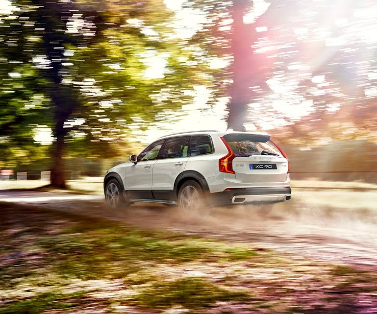 volvo car sverige volvo xc90 rugged luxury for a tougher Volvo Xc90 Build Your Own