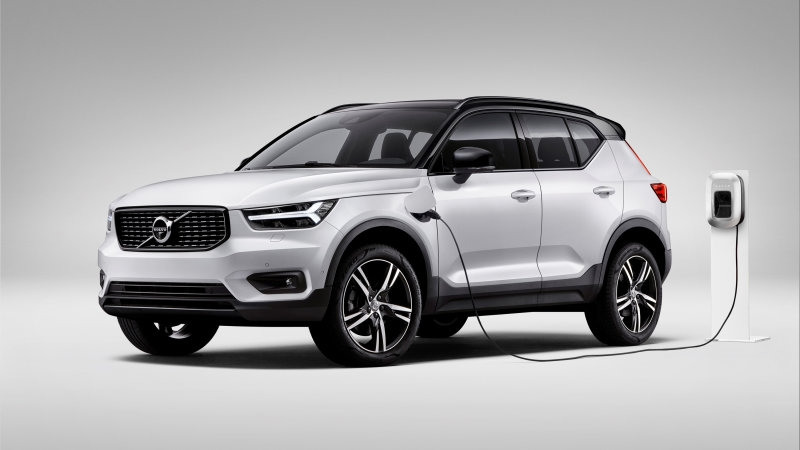volvo debuts xc40 t5 twin engine phev with fantastic fuel Volvo Xc40 Gas Mileage