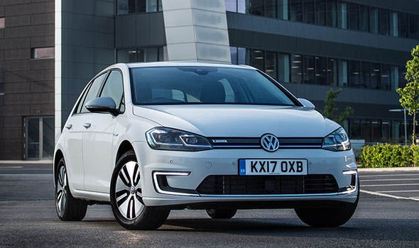 vw e golf 2017 electric car has more range and huge Volkswagen Golf Electric