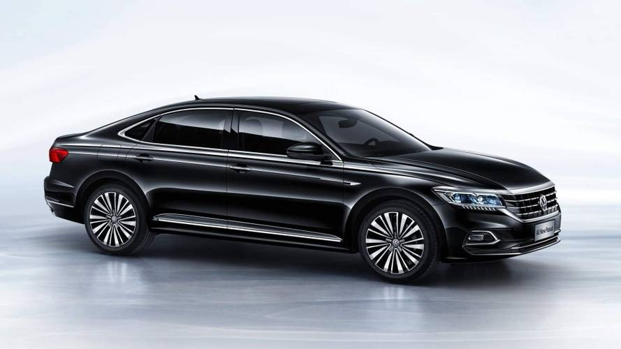 vw reveals new passat for china could preview next gen us Volkswagen Passat New Model