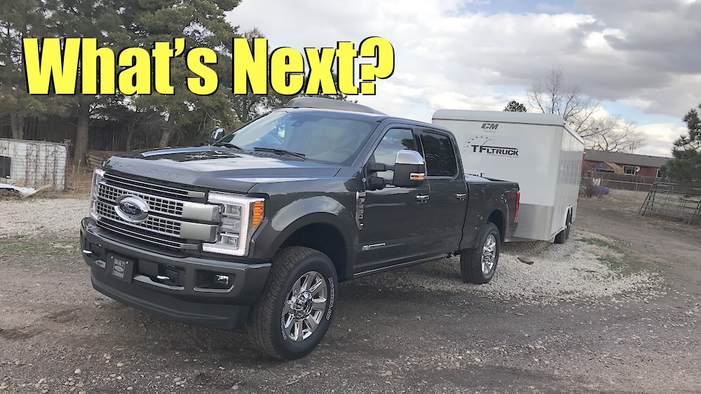 whats next for the 2020 ford super duty 70l v8 10 speed Ford Super Duty 7.0 V8