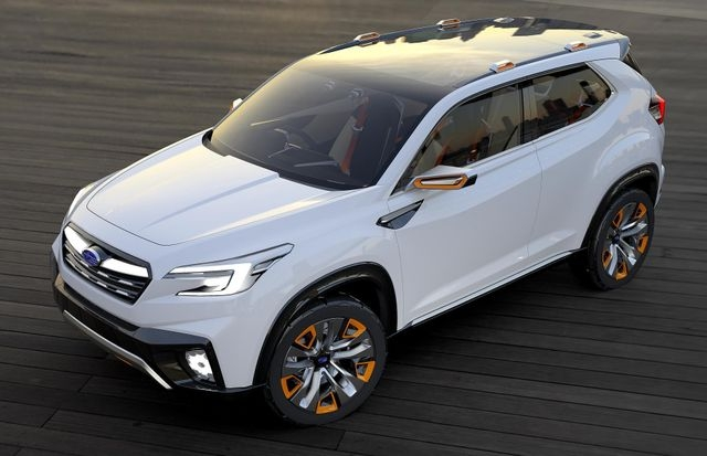 your first look at the 2020 subaru forester is this shadowy New Generation Subaru Forester