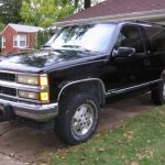 1994 chevrolet blazer full size 2 door Chevrolet Full Size Blazer