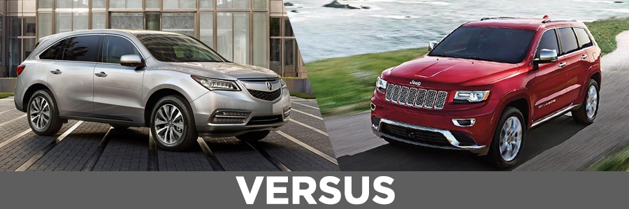 2016 acura mdx vs 2015 jeep grand cherokee continental acura Acura Rdx Vs Jeep Cherokee