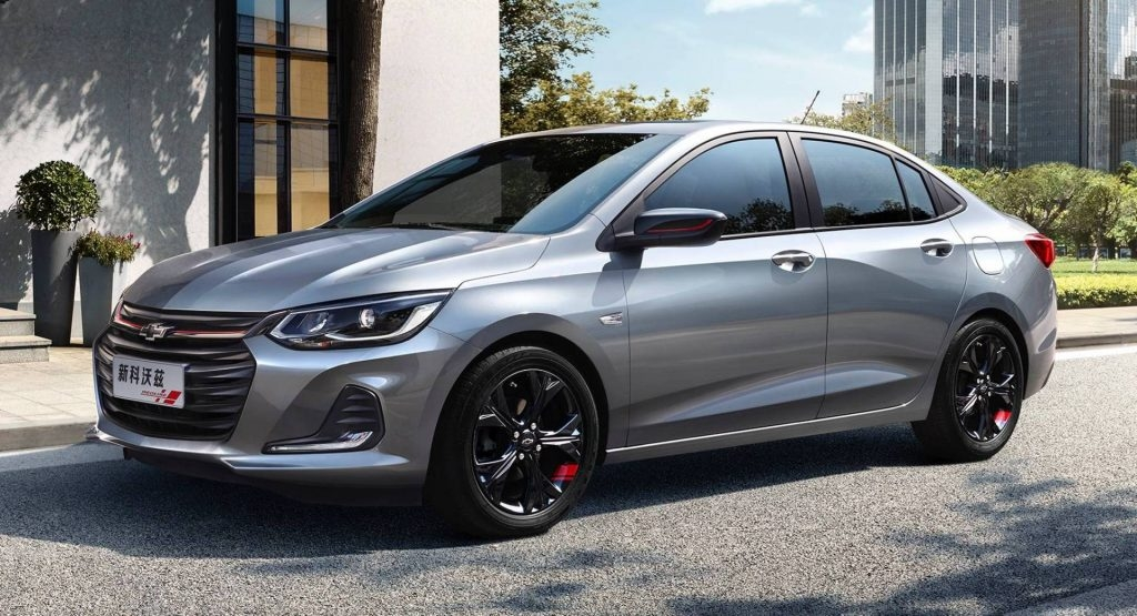 2019 chevrolet onix sedan revealed in china before global Chevrolet Prisma China