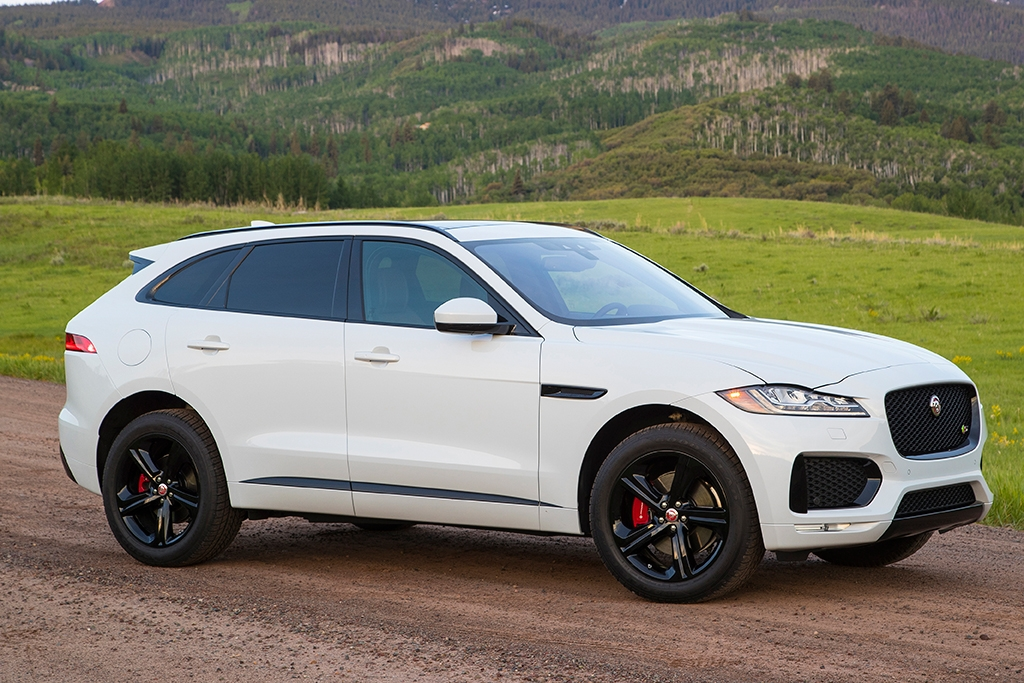 Jaguar F Pace New Model