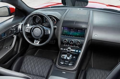 2019 jaguar f type interior elements and technology jaguar Jaguar F Type Interior
