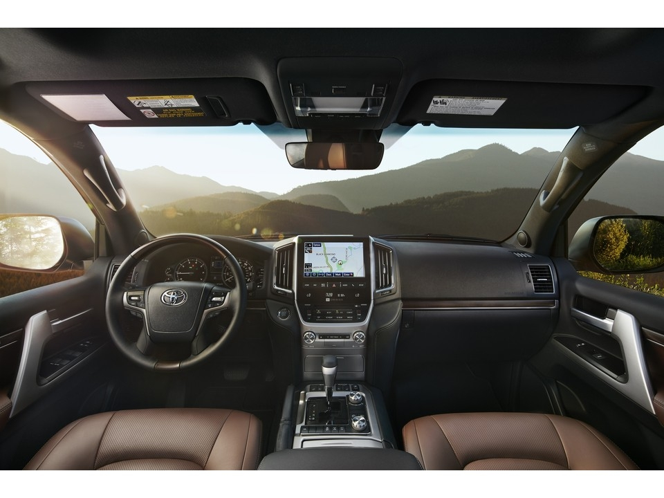 2020 toyota land cruiser 49 interior photos us news Toyota Land Cruiser Interior