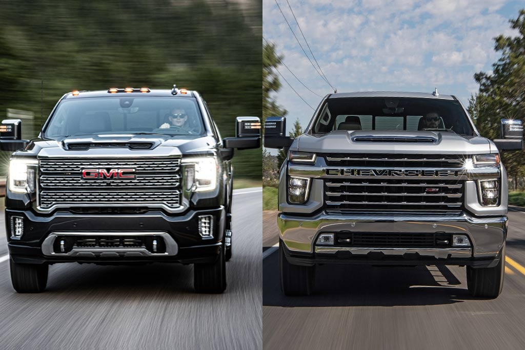 Gmc 2500 Vs Chevy 2500