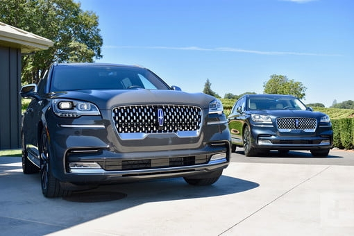 2020 lincoln aviator first drive review this suv really Lincoln Aviator Vs Audi Q7