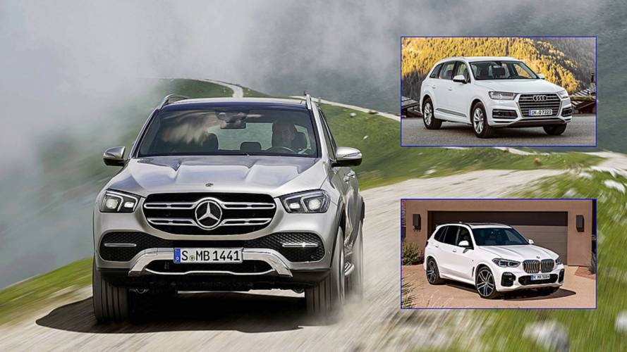 2020 mercedes gle how does it stack up to the audi q7 bmw x5 Mercedes Gle Vs Audi Q7