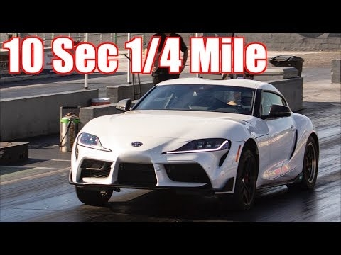 2020 toyota supra 10 second 14 mile stock turbo mkv Toyota Supra Quarter Mile