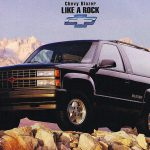 ace of base 1994 chevrolet blazer the truth about cars Chevrolet Full Size Blazer