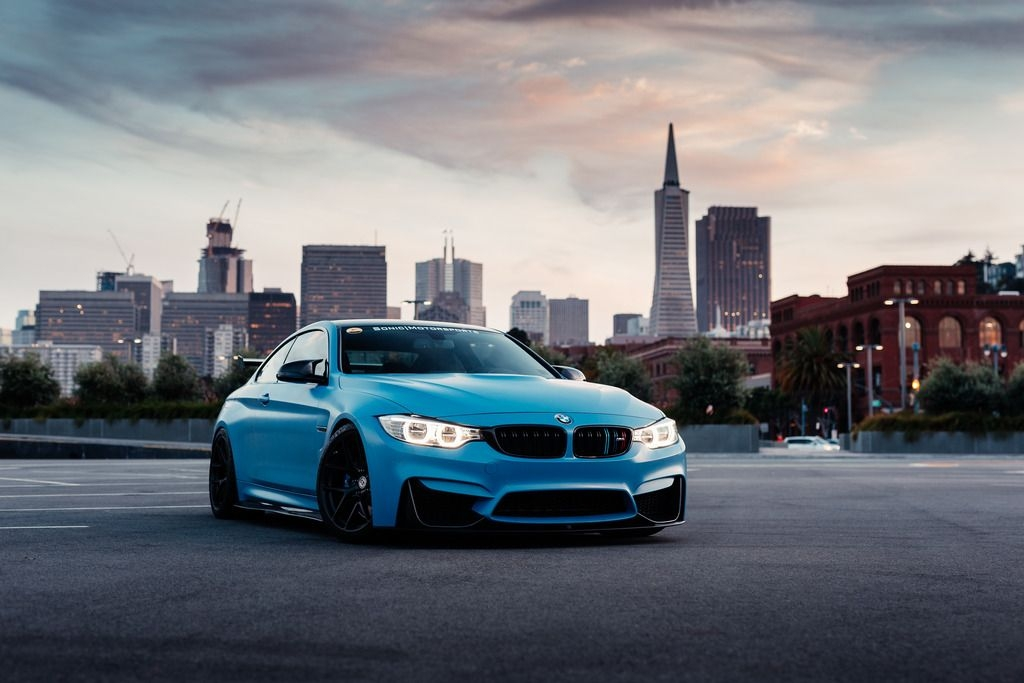 bmw m4 gts is even more stunning with yas marina blue wrap Bmw M4 Yas Marina Blue