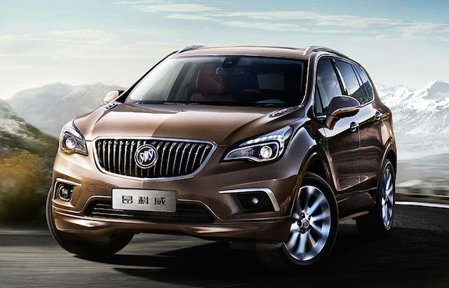 buick envision made in china and coming to the usa Buick Envision Release Date