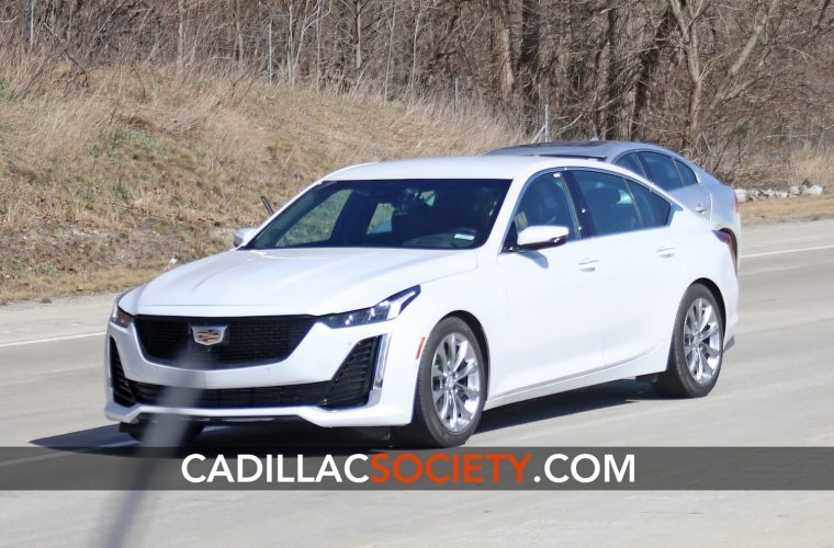 first in the wild pictures of the cadillac ct5 Pictures Of Cadillac Ct5