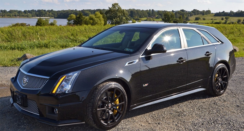 heres what a perfect cadillac cts v wagon is worth now Cadillac Station Wagon