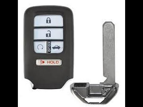 honda key fob battery replacement change civic accord crv oydessy fit smart entry key Honda Key Fob Battery Replacement