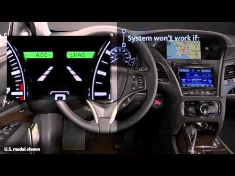 how to use acuras lane keeping assist system lkas Acura Rdx Lane Keep Assist