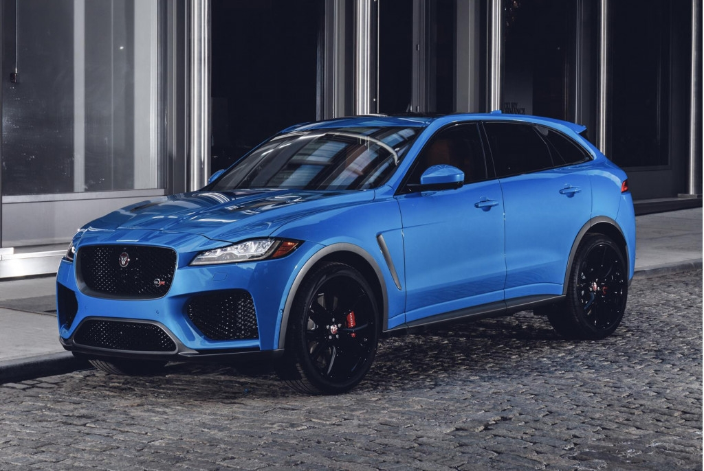 jaguar explains why its 2019 f pace svr means business Jaguar F Pace Svr Release Date