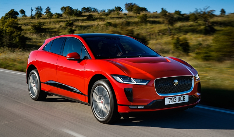 jaguar i pace first edition the charging point Jaguar IPace First Edition