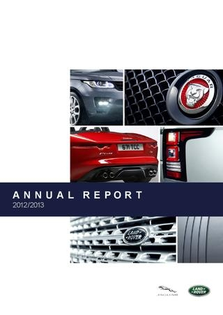 jaguar land rover annual report fp creative issuu Jaguar Land Rover Annual Report