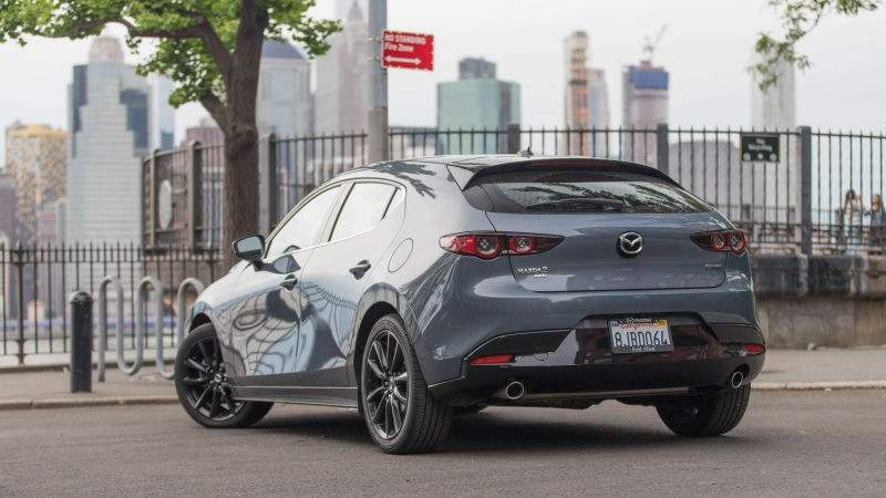 mazda we could do a hot hatch mazda 3 we just choose not to Mazda 3 Hatchback Jalopnik