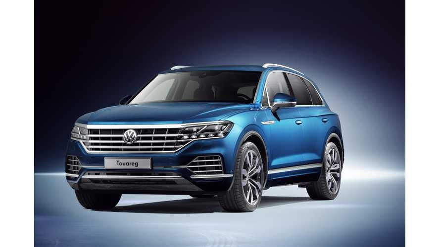 meet the new volkswagen touareg phev coming this year Volkswagen New Touareg