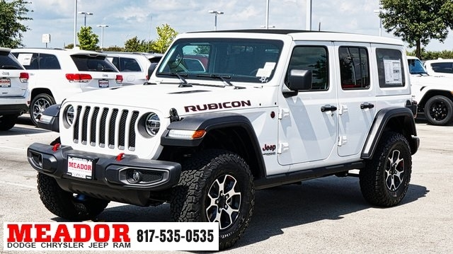 new 2020 jeep wrangler unlimited rubicon with navigation 4wd Jeep Rubicon Unlimited