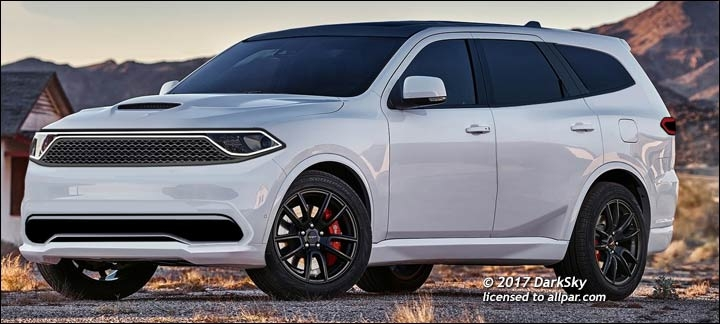 news meet the new grand cherokee and durango Dodge Durango Redesign
