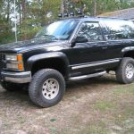 purchase used 92 black full size blazer no rust lifted 4x4 Chevrolet Full Size Blazer
