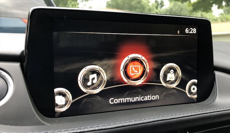 review mazdas carplay support a welcome addition for Mazda Touch Screen While Driving