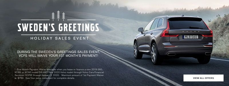 swedens greetings sales event volvo cars cincinnati north Volvo January Incentives
