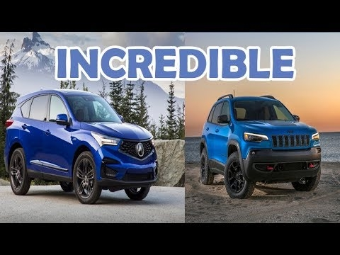 top 5 2020 jeep cherokee trailhawk vs 2020 acura rdx aa top auto Acura Rdx Vs Jeep Cherokee