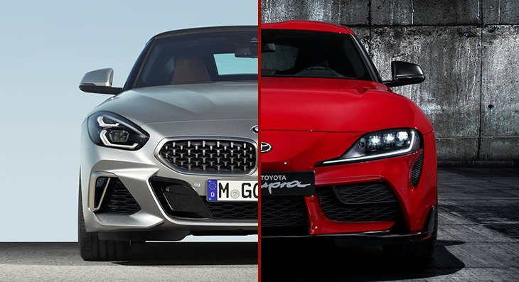 toyota supra vs bmw z4 how different are they carscoza Toyota Supra Vs Bmw Z4