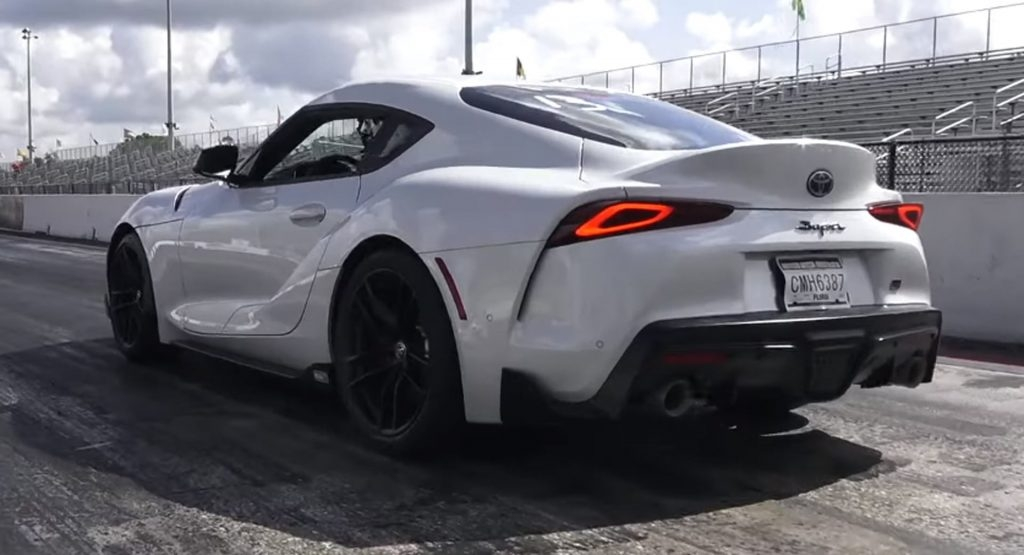 tuned 2020 toyota supra already setting low 11 second Toyota Supra Quarter Mile