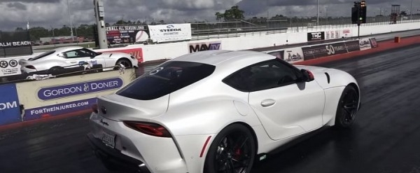 tuned 2020 toyota supra does 114s 14 mile people want to Toyota Supra Quarter Mile