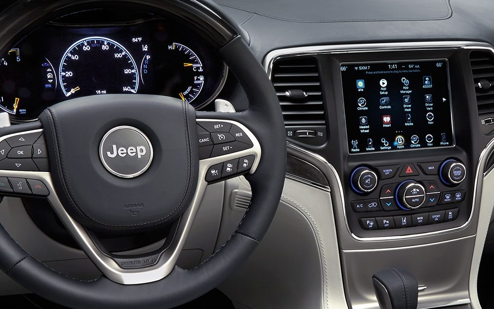 uconnect for jeep system information Jeep Grand Cherokee Update