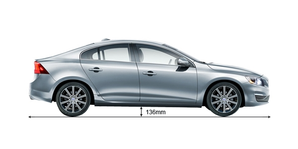 Volvo S60 Ground Clearance